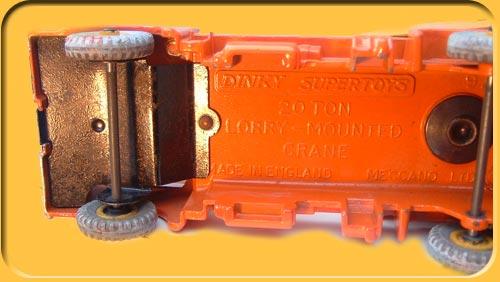 dinky toys grue coles  u0026quot lorry montain crane u0026quot  n u00b0889